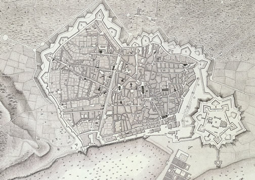The Ciutadella and Montjuïc fortresses were built not so much to protect citizens from outside danger as to suppress further civic insurrection. Source: Arxiu Històric de la Ciutat de Barcelona